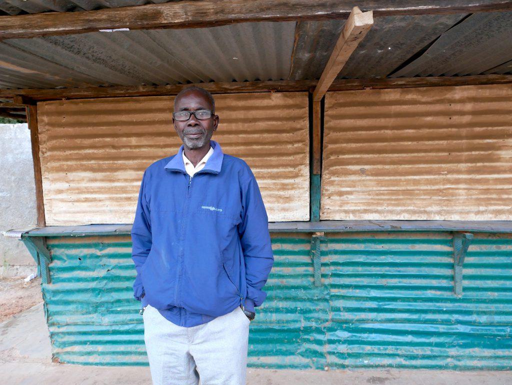 Lamin Ceesay, l'un des survivants.