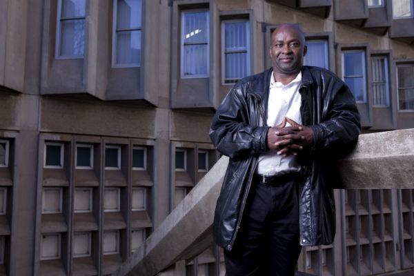 Achille Mbembe, historien camerounais installé à Johannesburg, le 25 juillet 2012