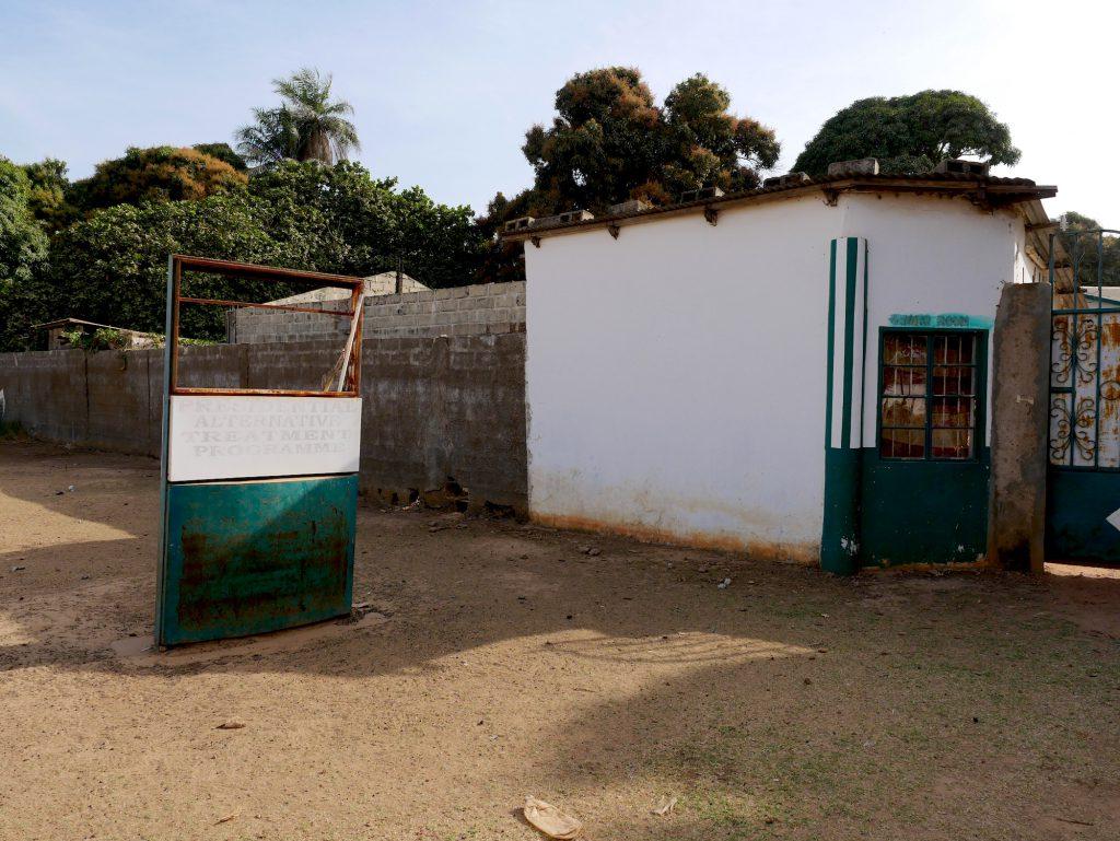 L'un des centres où les malades étaient logés.
