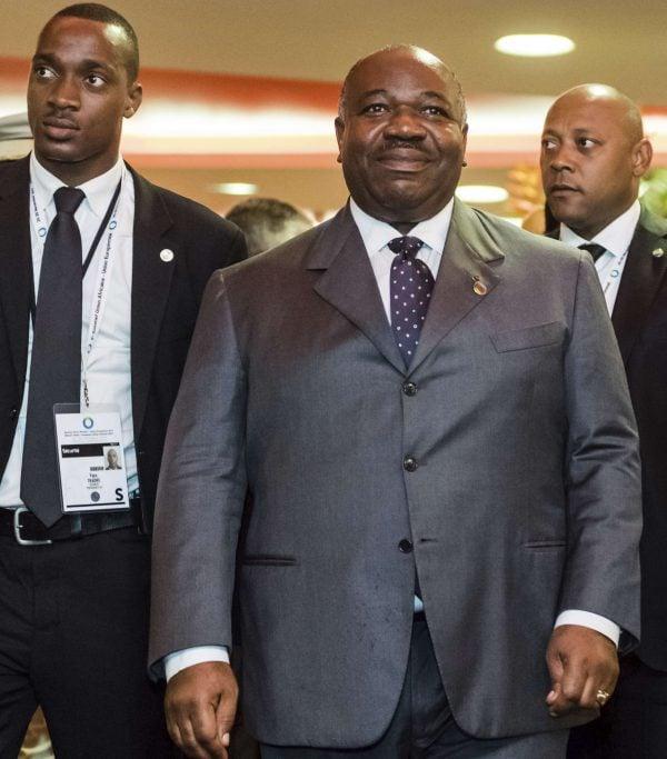 Ali Bongo Ondimba au sommet Union Européenne-Afrique, à Abidjan, Côte d'Ivoire, le 29 novembre 2017.