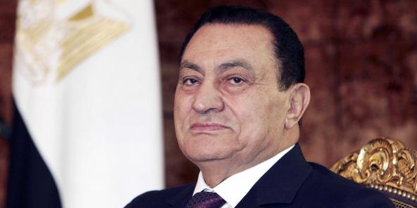 Le président égyptien Hosni Moubarak, au Caire en 2006.