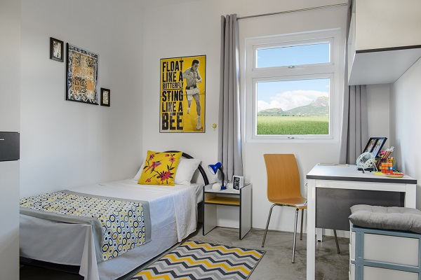 Un chambre en résidence