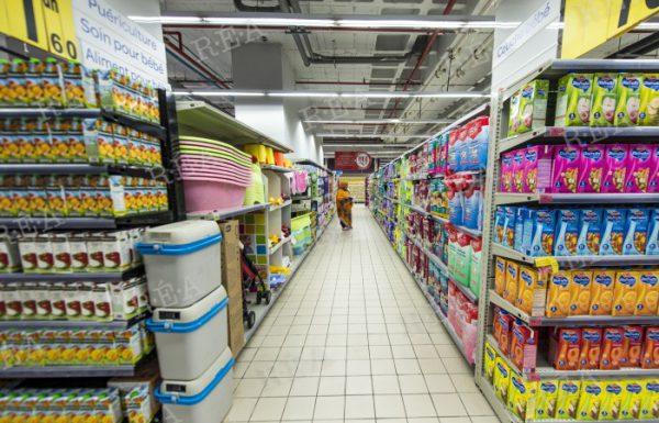 Un supermarché Carrefour au Maroc en 2014