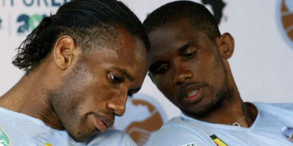 Mondial 2026 : Drogba et Eto'o, attaquants de pointe au service de la  candidature marocaine – Jeune Afrique