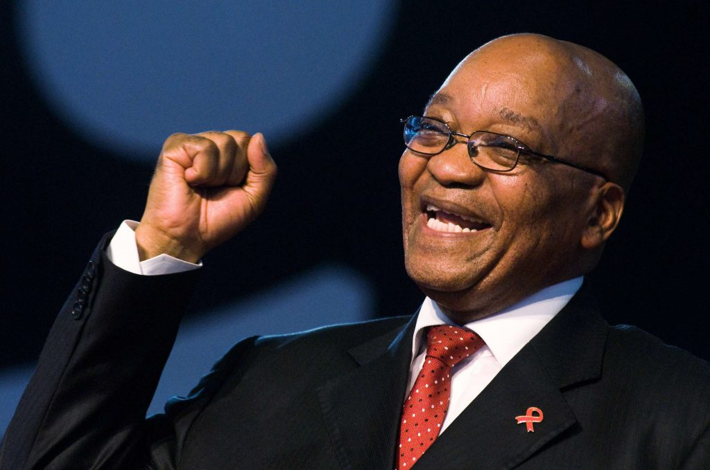 Jacob Zuma , l'ancien président sud-africain
