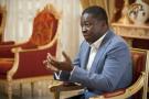 Faure Gnassingbé, au palais présidentiel à Lomé, en décembre 2017.