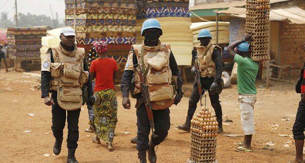 Centrafrique : des forces de sécurité déployées dans un quartier de Bangui