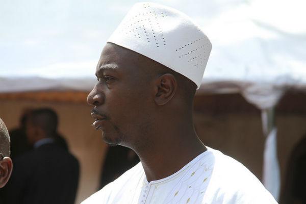 Le ministre Mahamadou Camara lors du premier conseil des ministres du gouvernement Moussa Mara, le 17 avril 2014