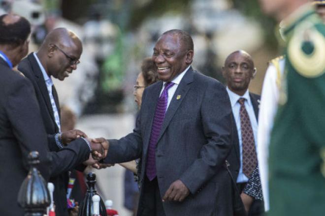 Afrique du Sud : la garde rapprochée de Cyril Ramaphosa