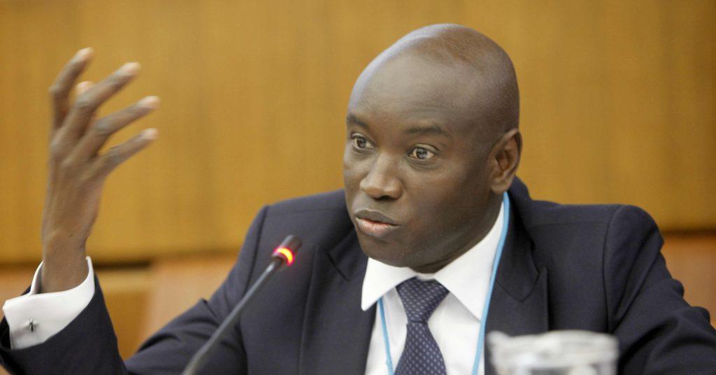 Le ministre de l'Intérieur Aly Ngouille Ndiaye, à Genève en 2014.