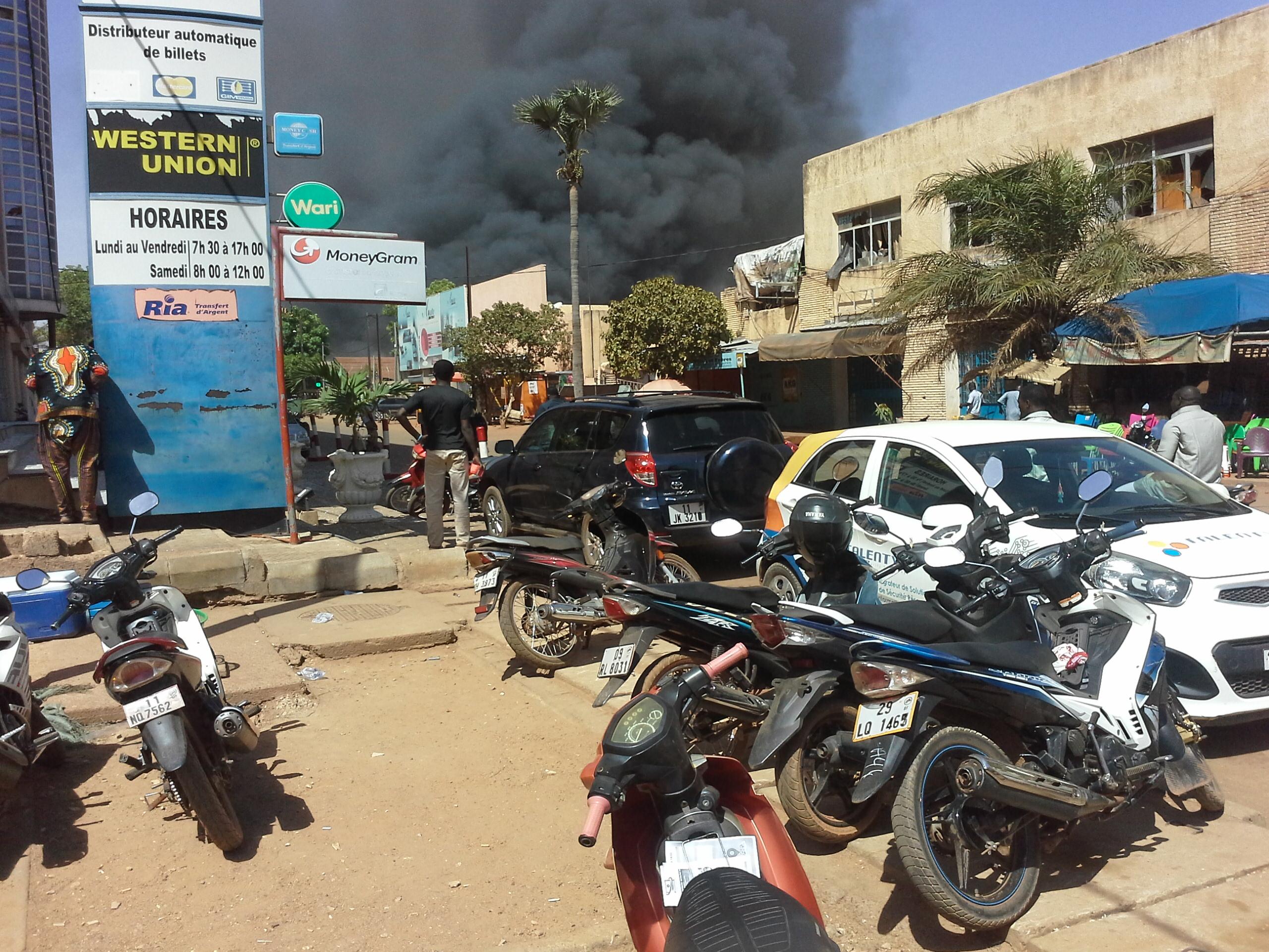 Explosion aux alentours de l'état-major des armées à Ougadougou, au Burkina.