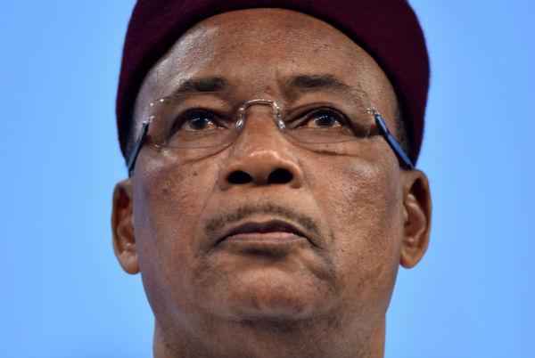 Mahamdou Issoufou, président du Niger le 23 février à Bruxelles.