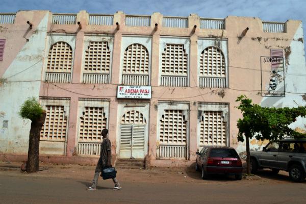 Le siège de l'Adema à Bamako, en 2013.