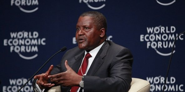 Aliko Dangote au World Economic Forum de 2014