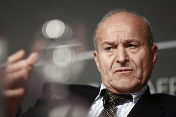 Issad Rebrab, entrepreneur algérien, PDG du groupe industriel Cevital, le 21 novembre 2012.