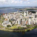 Le quartier du Plateau, à Abidjan, où l'entreprise rénove la tour Shell.