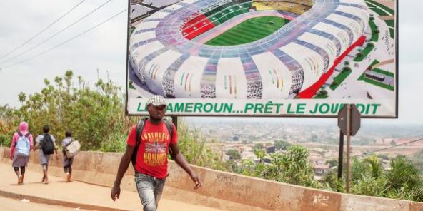 Le stade Paul-Biya d'Olembé, au Cameroun.