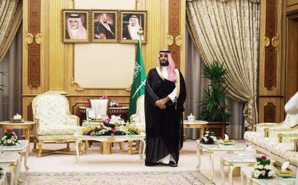 Mohamed Ibn Salman Ibn Abdelaziz Al Saoud,le 19octobre 2015, à Riyad.
