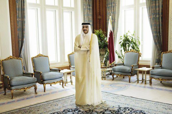 L'émir du Qatar Tamim Ben Hamad Al Thani, le 3août 2015, à Doha.
