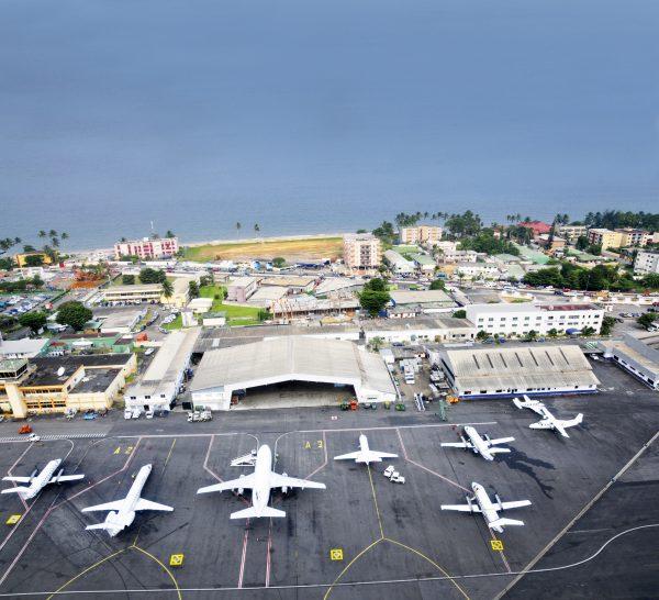 L'aéroport de Libreville (Illustration).