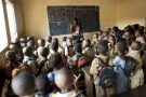 Dans une salle de classe du quartier de Hafia, à Conakry, en 2012 (archives).