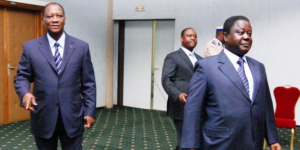 Image result for Bédié...Ouattara