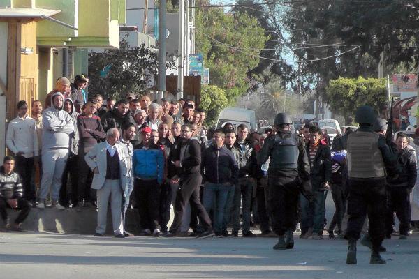A Ben Guerdane, en Tunisie, le 7 mars 2016.