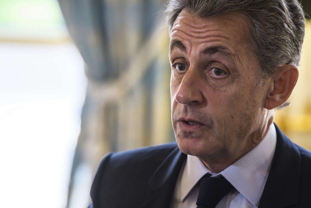 L'ancien président français Nicolas Sarkozy à l'Elysée, le 6 novembre 2017.