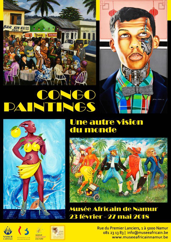 «Congo Paintings», au musée africain de Namur (Belgique), expose jusqu'au27mai 80 toiles du mouvement des peintres populaires congolais.