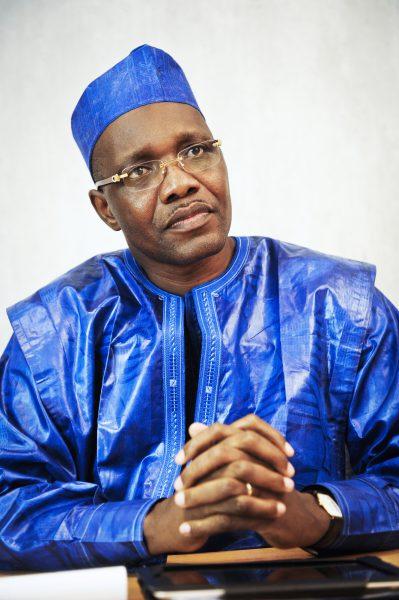 Dramane Dembélé, déjà candidat du parti à la présidentielle de 2013