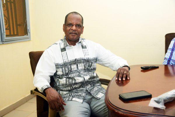 Moustapha Dicko, ancien ministre de l'Enseignement supérieur