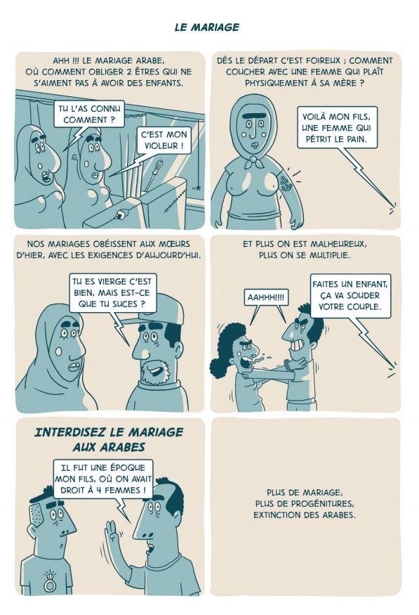 100% bled », ou la BD qui rit des paradoxes des Arabes
