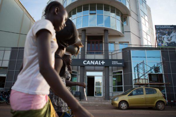 Le siège de Canal+ dans le quartier ACE 2000, à Bamako (Mali), le 03 Septembre 2014.