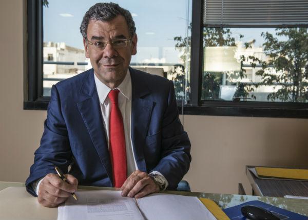 Raymond Farhat (Directeur Général du Groupe Saham Finances), à Casablanca (Maroc) le 20 septembre 2013