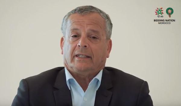 Lakhdar Belloumi, nouvel ambassadeur de la candidature marocaine au mondial de foot de 2026.