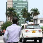 Le centre ville de Libreville (Gabon), le 22 août 2013