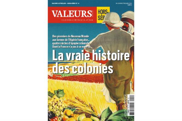 La couverture du hors-série de Valeurs actuelles.