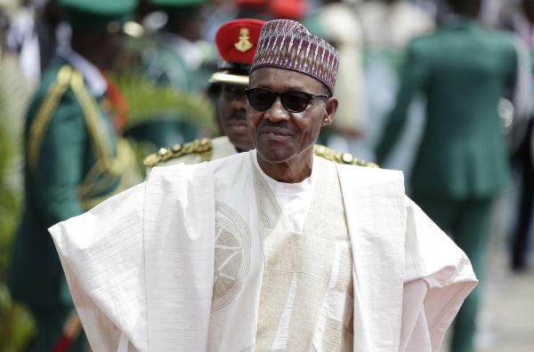 Muhammadu Buhari, en mai 2015.