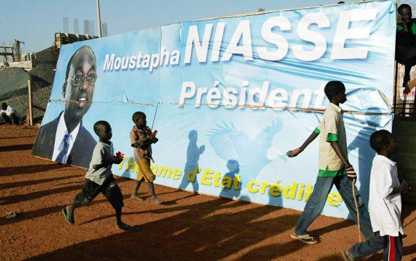 Campagne présidentielle de février2007, où l'ancien Premier ministre Moustapha Niasse obtiendra 5,9%.