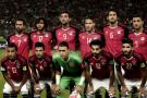 La sélection égyptienne de football, le 8 octobre 2017.