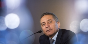 S.E. Moulay Hafid Elalamy, Ministre marocain de l'Industrie Private working group - Africa Ceo Forum, Abidjan, Côte d'Ivoire, mars 2016