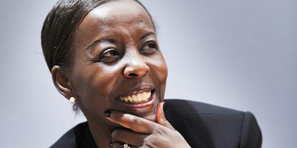 Louise Mushikiwabo, ministre rwandaise des Affaires étrangères, le 8 septembre 2011