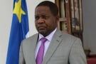 Firmin Ngrebada, ici en 2016, est le directeur de cabinet de Faustin-Archange Touadéra, président centrafricain.