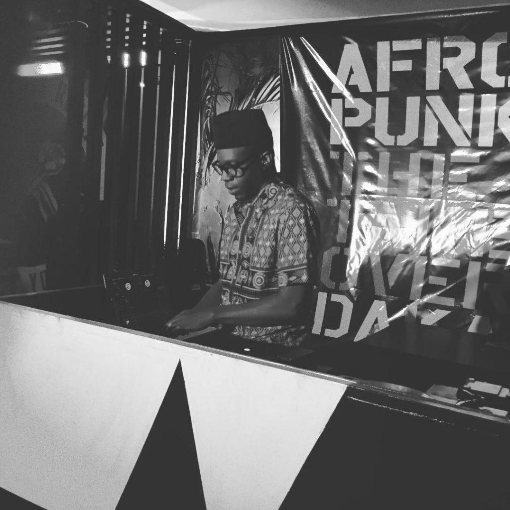 Le DJ africain-américain Raashan Ahmad.