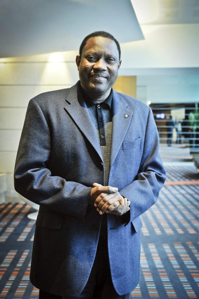 Hama Amadou (Niger), ancien Premier ministre, élu président de l'Assemblée nationale en avril 2011.