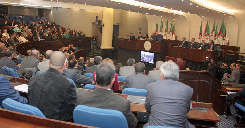 Une séance à l'Assemblée populaire nationale en Algérie (image d'illustration).