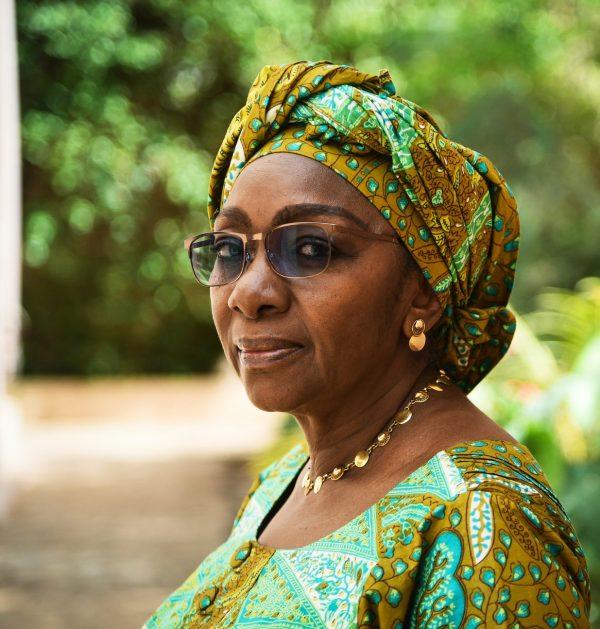 """Sy Kadiatou Sow, présidente d'honneur de la plateforme """"An té a bana: Touche pas à ma constitution"""" le 18 mai 2018  à Bamako"""