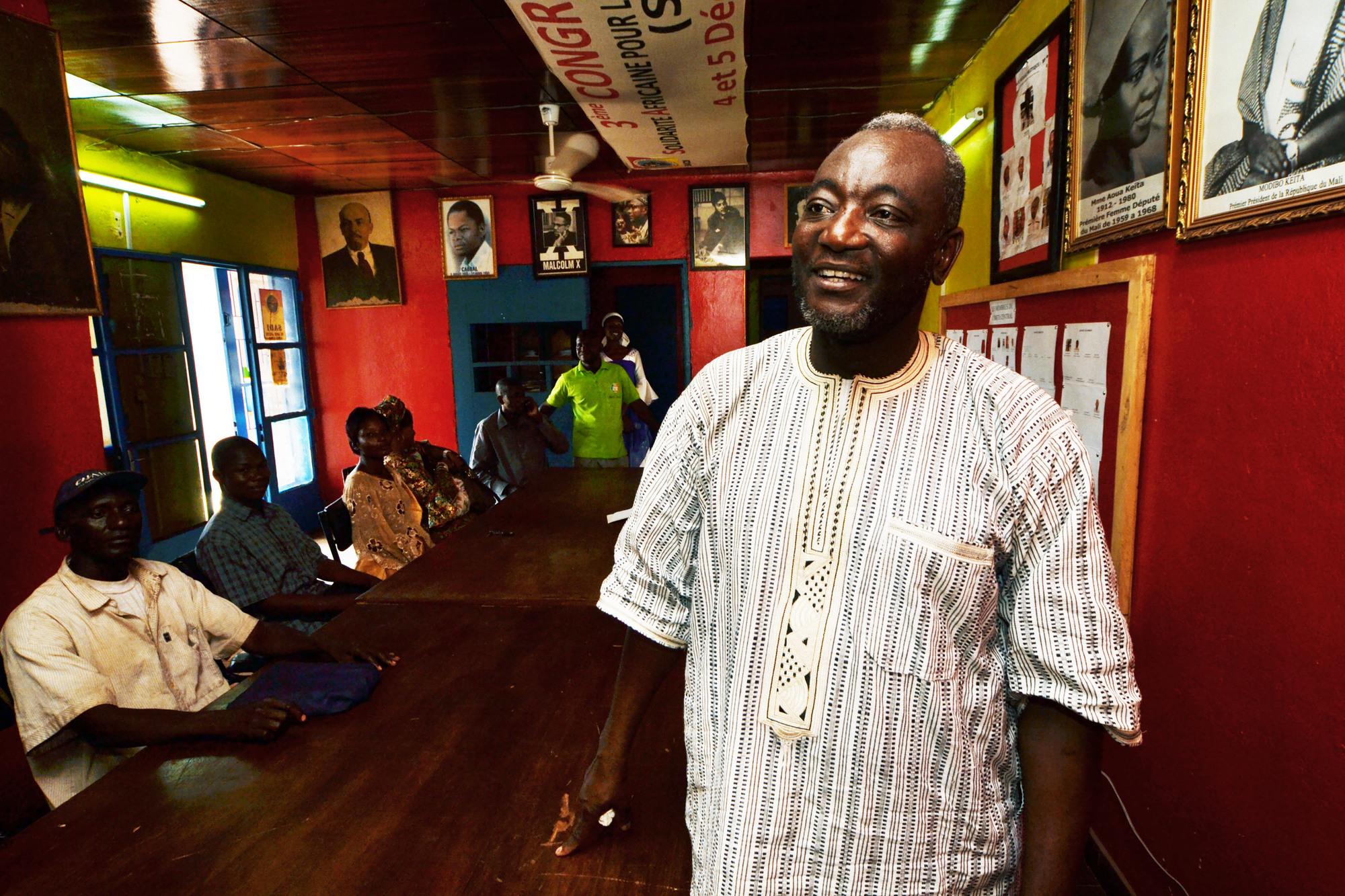 Honorable Oumar Mariko-Siège du parti SADI Bamako