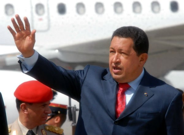 Hugo Chàvez, président du Venezuela du 1999 à 2013
