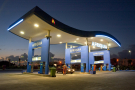 Une station-service d'Afriquia, leader des distributeurs de carburant
